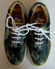 Ed Hardy Boys/Girls Camouflage Sneakers (4) NWOB