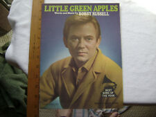 1968 Sheet Music -Little Green Apples by Bobby Russell.