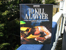 bePuzzled TO KILL A LAWYER ~Mystery Jigsaw Thriller New Box Opened~Pieces Sealed