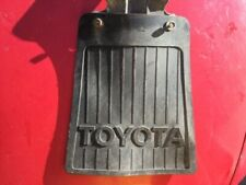 1979-1983 Toyota HILUX 2WD Pickup Truck REAR MUD FLAPS WITH BRACKETS L AND R OEM