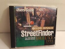 Rand McNally Street Finder Deluxe 1999 (2 CD-Roms, 1998)
