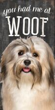 Havanese Sign – You Had me at Woof 5×10