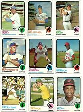 1973 TOPPS COMPLETE YOUR SET - 397-528 - PICKEM - 4 for $2.49 - ROOKIES, TEAMS