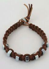 New Men Fashion Leather Bracelet Men Handmade Fashion Bracelet