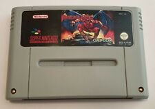 Demons Crest Snes Super Nintendo PAL