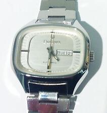 Genuine Vintage Bulova 17 Jewels Swiss Automatic Analog Watch t-swiss