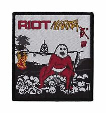 "Riot ""Narita"" Patch judas priest-iron maiden-ufo-thin lizzy-accept-saxon-y& t"