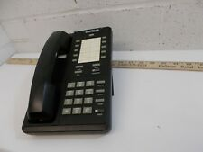 Cortelco 10 Button Display Phone 219300  Black 30 Day Warranty.