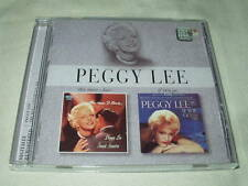 PEGGY LEE The Man I Love+If You Go CD Capitol Albums Female Vocals Sinatra