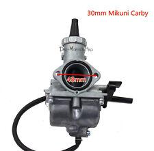 30MM MIKUNI CARBURETOR Carburettor CARBY 200cc 250cc Dirt Pit Bike ATV Quad