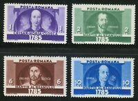 Romania 1935 MNH Mi 480-483 Sc 442-445 Romanian martyrs.The Revolt. Superb **