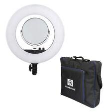 NANGUANG Bi-Color Beauty SET LED-Ringlicht VENUS V48C Ringleuchte mit Tasche Zbh