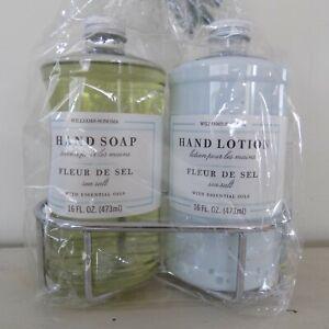 NEW Williams Sonoma Essential Oils FLEUR DE SEL16 oz Hand Soap & Lotion