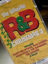 ULTIMATE R&B CHRISTMAS Volume 3 Cassette - Carla Thomas, Supremes, O'Jays NEW