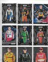 LOT OF 200 RACING CARDS WITH GORDON,EARNHARDT,ELLIOTT,PATRICK,TRUEX JR,STEWART