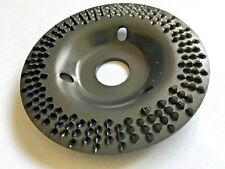 A Grinding tapered middle Raspdisc Flat Wood Rubber 115x3x22,2