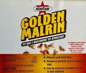 Original Golden Malrin Fly Bait Methomyl 1lb REPACKAGED...1000's Sold!!
