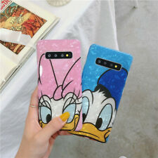 Cartoon Disney Daisy Donald soft case Cover for Samsung galaxy S20+ S10+ note 9
