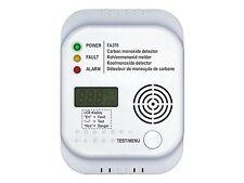 LCD FA370 Kohlenmonoxid CO Melder Gasmelder Monoxide Detector Alarm EN50291-1