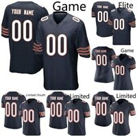 DIY 100th Season Chicago Home Football Jersey Stitch Custom Name # Any Size XXL
