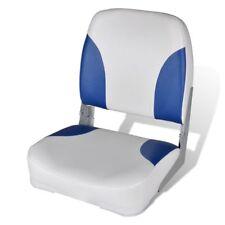 vidaXL Bootssitz Bootsstuhl Steuerstuhl Anglerstuhl klappbar+Kissen 41x36x48 cm