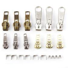 Instant Zipper Repair Kit Metal Plastic Spiral Zip Slider Replacement 22pcs NP2Z