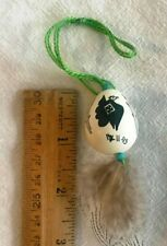 Pigeon or Quail egg, signed, dated '93