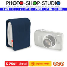 Manfrotto Piccolo 3 ( Blue ) Camera Hard Case Pouch STILE Italian-style design