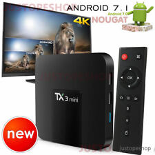 2017 TX3 2gb RAM + 16gb Quad Core Android 7.1 TV Caja 4k HD Media Player
