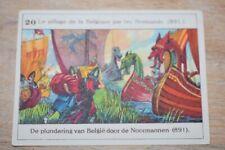 Belgische Geschiedenis - Histoire de Belgique - 20 - pillage Belgique Normands