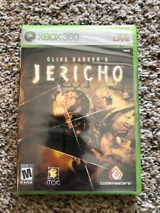 Clive Barker's Jericho (Microsoft Xbox 360, 2007) New Factory Sealed OOP