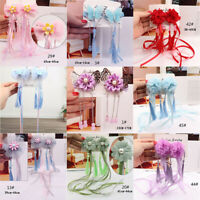 2Pc/set Children Kids Hair Clip Butterfly Tassel Hairclip  Hairpin Jewelry Party