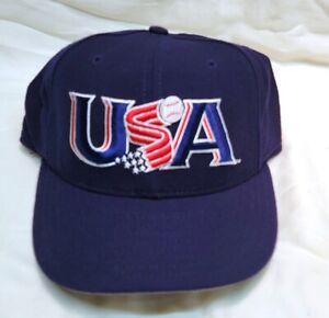 USA World Baseball Classic New Era Cap Hat 59Fifty Fitted Blue Sz 7 1/8 NWT