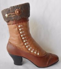Just The Right Shoe By Raine High Buttoned Victorian Boot
