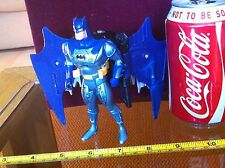 Batman Figure Blue Wings DC Comics Dark Knight Incomplete