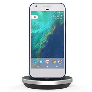 Google Pixel XL Desktop Charging Dock -Type C Charger slim case compatible Black