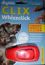Clix Whizzclick Hunde Dog Training Clicker und Pfeife 2 in 1 Company of Animals