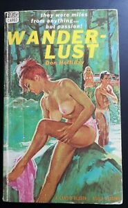 WANDER-LUST by Don Holiday, 1967 vintage paperback