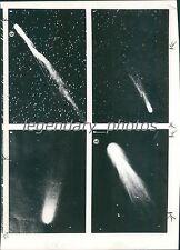 1957 Four Images of Comets Original News Service Photo