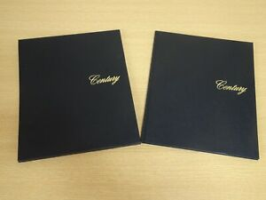 Very RARE 2020 TOYOTA Century brochure catalogue Hard cover and case from Japan