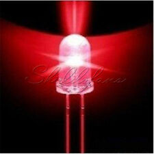 100PCS LED 3MM Red Color Top Round RED Llight Lamp Super Bright