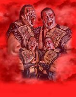 Demolition Ax & Smash Retro Old School Wrestling Print 8x10 WWF WWE WCW