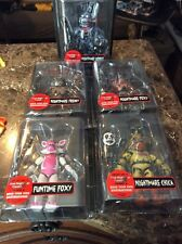 FNAF FIVE NIGHTS AT FREDDY'S WAVE 2 SET OF 5 NIGHTMARE ACTION FIGURES IN HAND