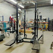 Power Lift Double Sided Half Rack with Multiple Attachments (Msrp $5K-$10K+)