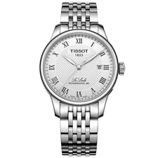 authentic TISSOT LE LOCLE POWERMATIC80 automatic silver dial T006.407.11.033.00