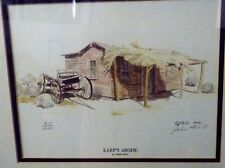 "LITHOGRAPH/EARP'S ABODE BY JOHN HILL/9""X12""/413 OF 1200/SIGNED/Limited Edition"