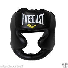 Everlast Full Face Headguard Headgear Boxing MMA Martial Arts Sparring Training