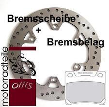 Spiegler Edelstahl Bremscheibe hinten + Bremsbelag - Yamaha XJ 900 - 4BB + ABE