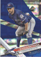 MARCO ESTRADA 2017 TOPPS CHROME SAPPHIRE EDITION #29 ONLY 250 MADE