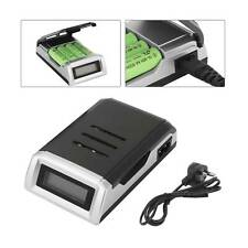 LCD Display Intelligent Fast Battery Charger for AA AAA Rechargeable Batteries